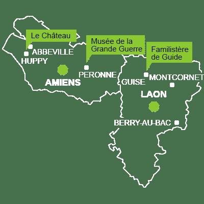 D'Abbeville à Montcornet